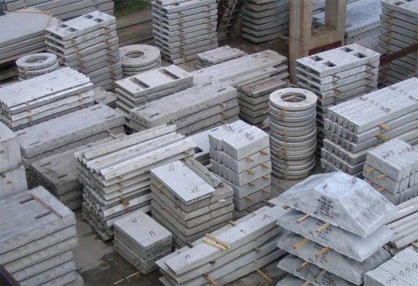 Тяжелые бетоны используются для отливки железобетонных изделий