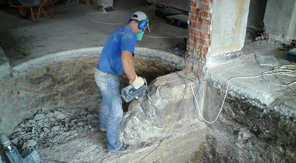 Удаление перегородок и стен