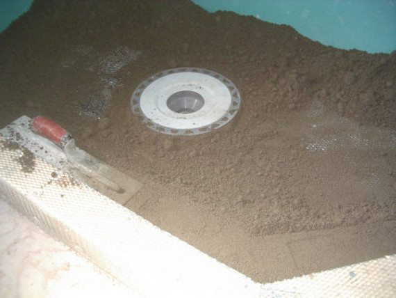 Укладка слоя глины