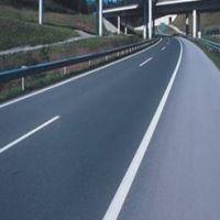 Уложенное дорожное полотно