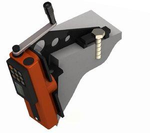 Устройство для определения качества бетона путем скалывания ребра