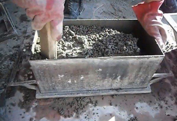Утрамбовка бетона
