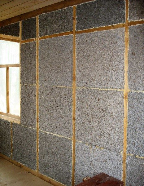 Увеличение теплоизоляции стен