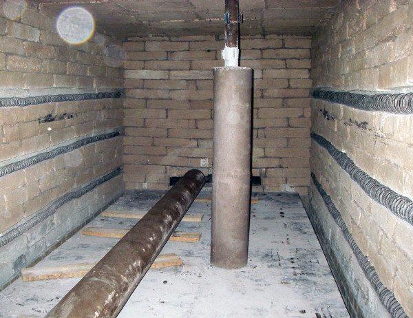 В различных печах активно используются детали на основе огнестойкого цемента