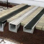 Варианты бетонных лотков для отвода воды