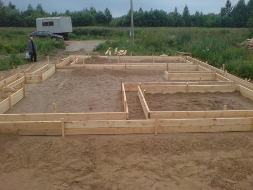 Важно правильно подготовить строительную площадку.