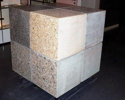 Вес куба бетона М400 составляет 2430 килограммов
