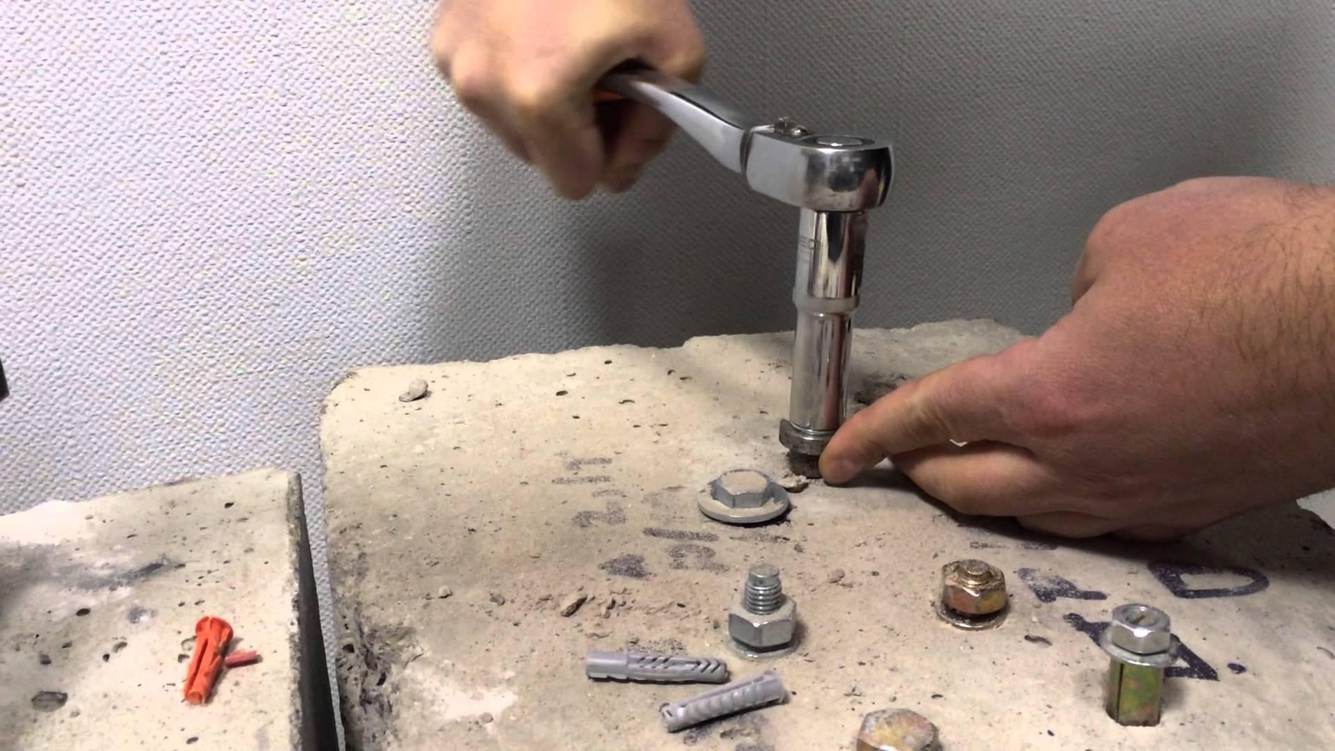 как вкрутить саморез по бетону