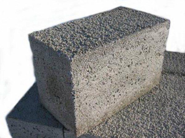 Внешний вид готового камня из данного вида бетона