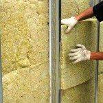 Внутреннее утепление бетонных стен минеральной ватой