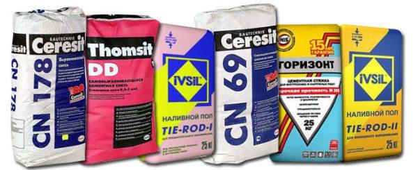 Выбирайте смесь для выравнивания бетонного пола