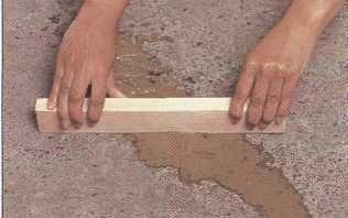 Выравнивание поверхности после ремонта