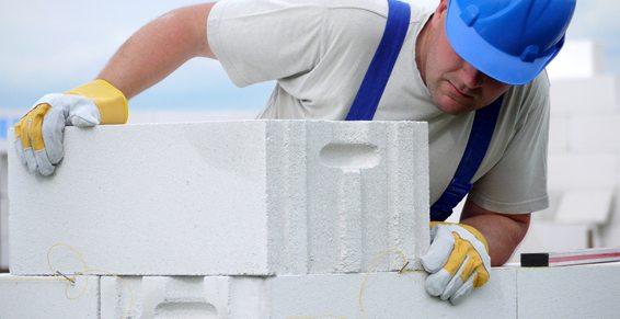 Ячеистый газобетон может применяться для строительства стен