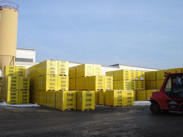 Ytong - крупнейший производитель газобетонных блоков.