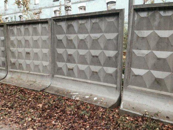 Забор для производства (временный)