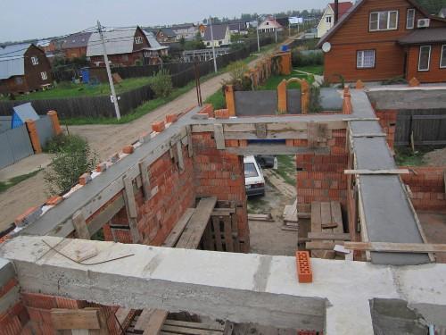 Заливка изделия бетоном