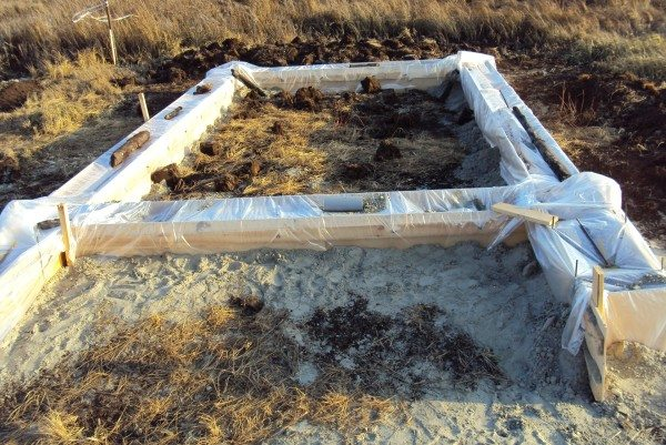 Защита бетона от холода подручными способами