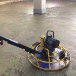 Затирка бетона роторной машиной