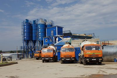 Завод по производству товарного бетона