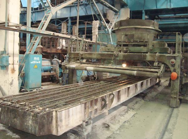Заводское изготовление железобетонных опор