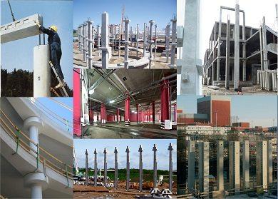 ЖБИ опоры в промышленном строительстве