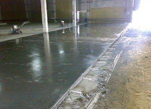 Железнение повышает качество бетонной поверхности.