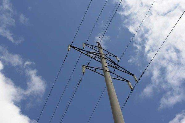 Железобетонная опора для линий электропередач