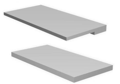 Железобетонные карнизные плиты перекрытий.