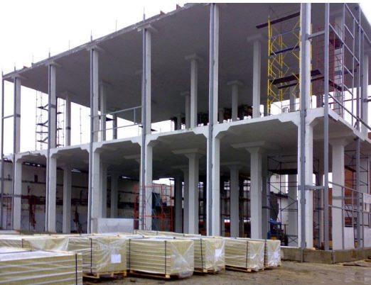 Железобетонные монолитные колонны отличаются высокой прочностью