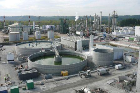Железобетонные резервуары для воды на производстве