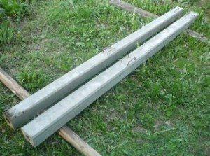 Железобетонные заборные столбы