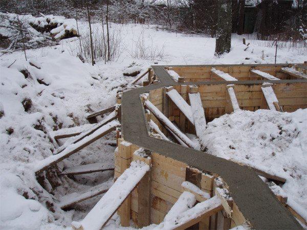 Зимнее бетонирование