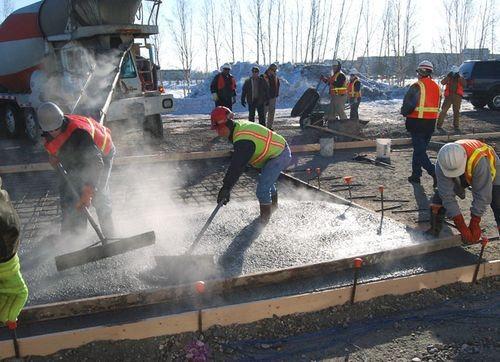 Зимнее бетонирование требует особого подхода.