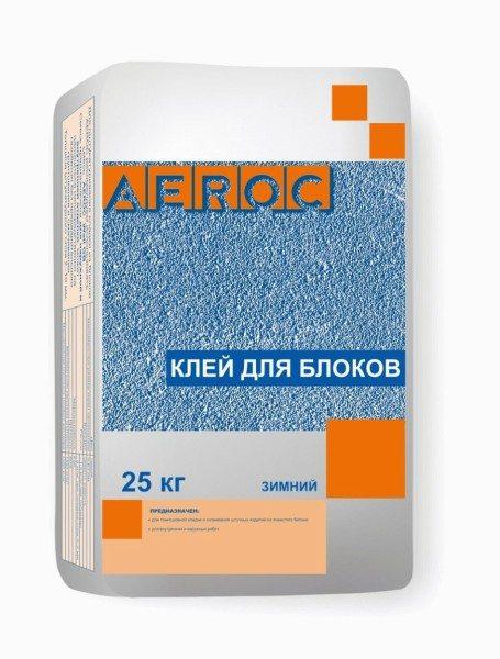Зимний клей Aeroc GB.