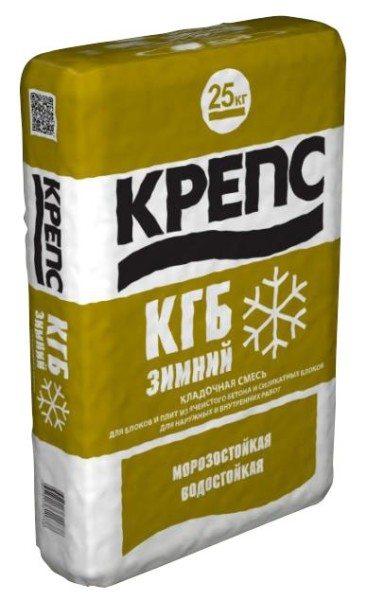 Зимний состав для газобетона