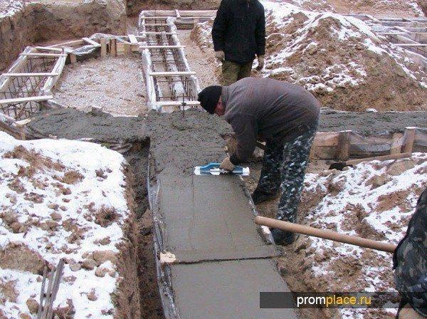 Зимой важен критический порог прочности смеси.